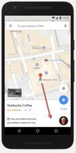 promoted places within Google maps